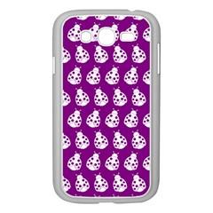 Ladybug Vector Geometric Tile Pattern Samsung Galaxy Grand Duos I9082 Case (white) by creativemom