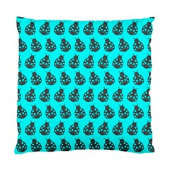 Ladybug Vector Geometric Tile Pattern Standard Cushion Cases (two Sides)  by creativemom