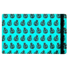 Ladybug Vector Geometric Tile Pattern Apple Ipad 3/4 Flip Case by creativemom