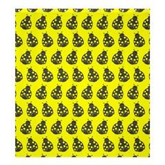 Ladybug Vector Geometric Tile Pattern Shower Curtain 66  X 72  (large)  by creativemom