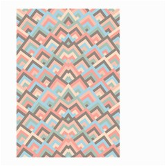 Trendy Chic Modern Chevron Pattern Small Garden Flag (two Sides) by creativemom