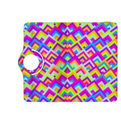 Colorful Trendy Chic Modern Chevron Pattern Kindle Fire Hdx 8 9  Flip 360 Case by creativemom