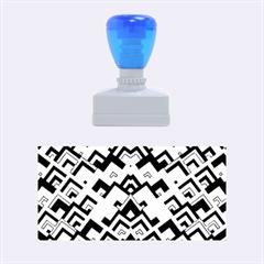 Trendy Chic Modern Chevron Pattern Rubber Stamps (medium)  by creativemom