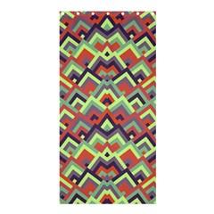 Trendy Chic Modern Chevron Pattern Shower Curtain 36  X 72  (stall)  by creativemom