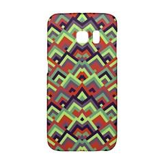 Trendy Chic Modern Chevron Pattern Galaxy S6 Edge by creativemom