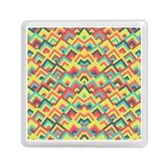 Trendy Chic Modern Chevron Pattern Memory Card Reader (square)  by creativemom