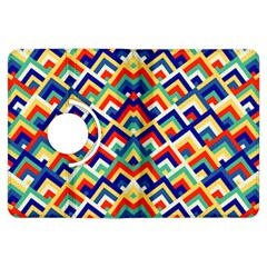 Trendy Chic Modern Chevron Pattern Kindle Fire Hdx Flip 360 Case by creativemom