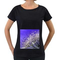 Dandelion 2015 0705 Women s Loose Fit T Shirt (black) by JAMFoto