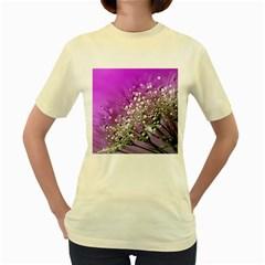 Dandelion 2015 0707 Women s Yellow T Shirt by JAMFoto