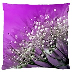 Dandelion 2015 0707 Large Flano Cushion Cases (two Sides)