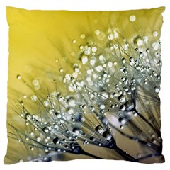 Dandelion 2015 0713 Large Cushion Cases (two Sides)  by JAMFoto