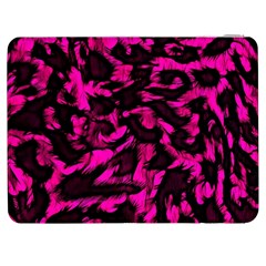 Extreme Pink Cheetah Abstract  Samsung Galaxy Tab 7  P1000 Flip Case by OCDesignss