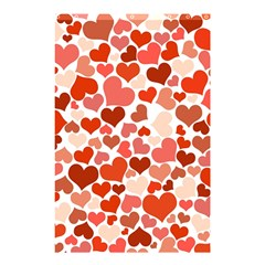 Heart 2014 0901 Shower Curtain 48  x 72  (Small)