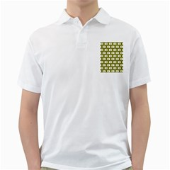 Modern Chic Vector Camera Illustration Pattern Golf Shirts by creativemom