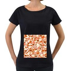 Heart 2014 0902 Women s Loose Fit T Shirt (black) by JAMFoto