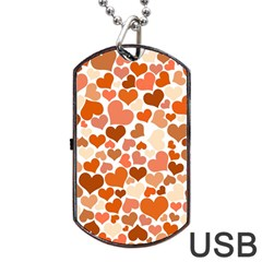 Heart 2014 0902 Dog Tag Usb Flash (two Sides)  by JAMFoto