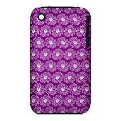 Gerbera Daisy Vector Tile Pattern Apple iPhone 3G/3GS Hardshell Case (PC+Silicone) by creativemom