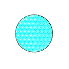 Gerbera Daisy Vector Tile Pattern Hat Clip Ball Marker (10 Pack) by creativemom