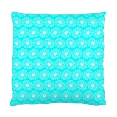 Gerbera Daisy Vector Tile Pattern Standard Cushion Cases (two Sides)  by creativemom