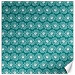 Gerbera Daisy Vector Tile Pattern Canvas 20  x 20