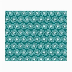 Gerbera Daisy Vector Tile Pattern Small Glasses Cloth (2 Side) by creativemom
