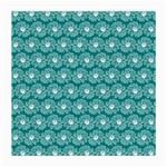 Gerbera Daisy Vector Tile Pattern Medium Glasses Cloth (2-Side)