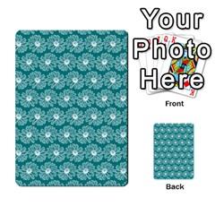 Gerbera Daisy Vector Tile Pattern Multi Purpose Cards (rectangle)