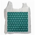 Gerbera Daisy Vector Tile Pattern Recycle Bag (Two Side)