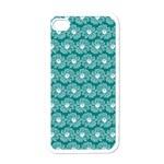 Gerbera Daisy Vector Tile Pattern Apple iPhone 4 Case (White)