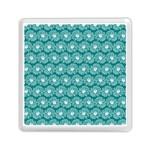 Gerbera Daisy Vector Tile Pattern Memory Card Reader (Square)
