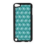 Gerbera Daisy Vector Tile Pattern Apple iPod Touch 5 Case (Black)