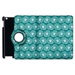 Gerbera Daisy Vector Tile Pattern Apple iPad 2 Flip 360 Case