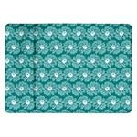 Gerbera Daisy Vector Tile Pattern Samsung Galaxy Tab 10.1  P7500 Flip Case