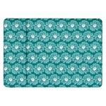 Gerbera Daisy Vector Tile Pattern Samsung Galaxy Tab 8.9  P7300 Flip Case