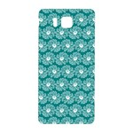Gerbera Daisy Vector Tile Pattern Samsung Galaxy Alpha Hardshell Back Case