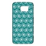 Gerbera Daisy Vector Tile Pattern Galaxy S6