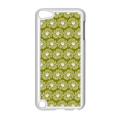 Gerbera Daisy Vector Tile Pattern Apple Ipod Touch 5 Case (white) by creativemom