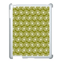 Gerbera Daisy Vector Tile Pattern Apple Ipad 3/4 Case (white) by creativemom