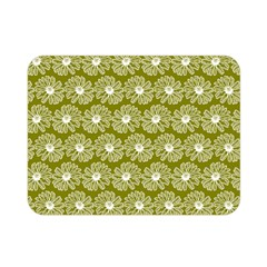 Gerbera Daisy Vector Tile Pattern Double Sided Flano Blanket (mini)  by creativemom