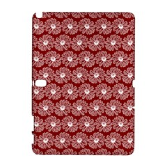 Gerbera Daisy Vector Tile Pattern Samsung Galaxy Note 10 1 (p600) Hardshell Case by creativemom
