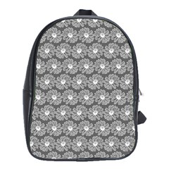 Gerbera Daisy Vector Tile Pattern School Bags (xl)  by creativemom