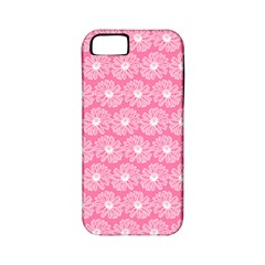 Pink Gerbera Daisy Vector Tile Pattern Apple Iphone 5 Classic Hardshell Case (pc+silicone) by creativemom
