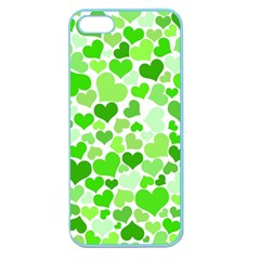 Heart 2014 0910 Apple Seamless Iphone 5 Case (color) by JAMFoto