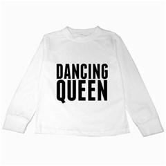 Dancing Queen  Kids Long Sleeve T-Shirts by OCDesignss