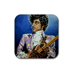 The Purple Rain Tour Rubber Coaster (Square)  by retz