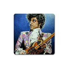 The Purple Rain Tour Square Magnet by retz