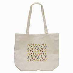 Mushrooms Pattern Tote Bag (cream)  by Famous