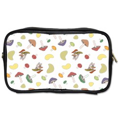 Mushrooms Pattern Toiletries Bags 2 Side by Famous