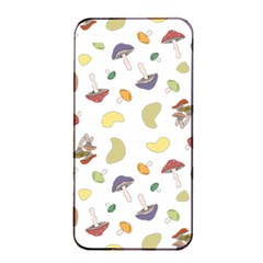 Mushrooms Pattern Apple Iphone 4/4s Seamless Case (black) by Famous