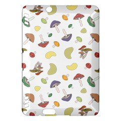 Mushrooms Pattern Kindle Fire Hdx Hardshell Case by Famous